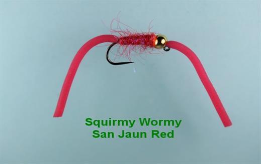 Squirmy Wormy San Jaun Red