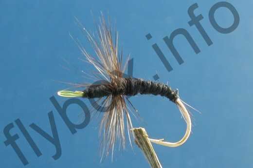 3 x Hairy Clan Chief Bomber Fishing Fly