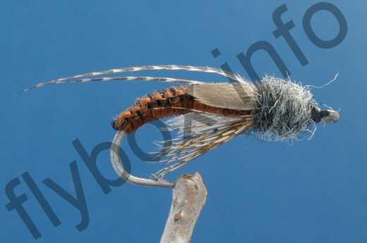 Crocheted Caddis Emerger