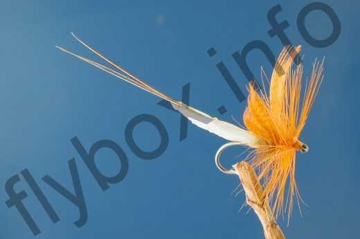 Detached Body Mayfly Orange