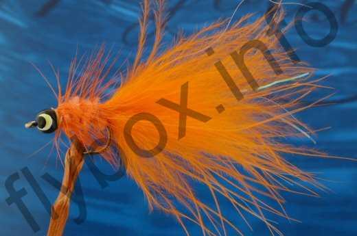 Palmered Eyed Dog Nobbler Orange