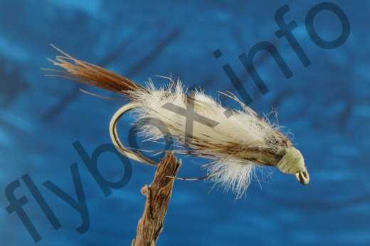 A.R.Mayfly Nymph Pale Yellow