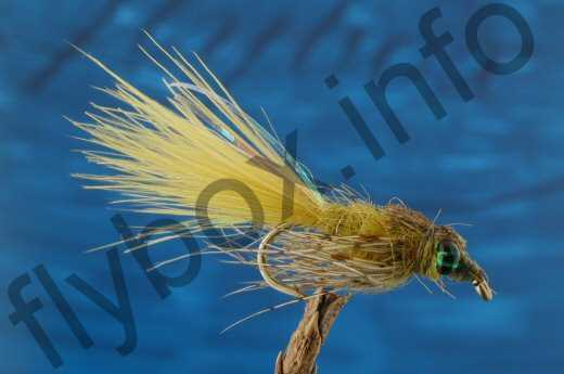 Leaded Eyed Marabuo Damsel Golden Olive Nymph