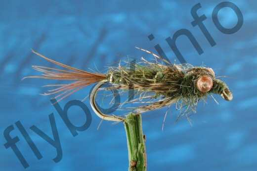 Weighted Dragon Fly Nymph