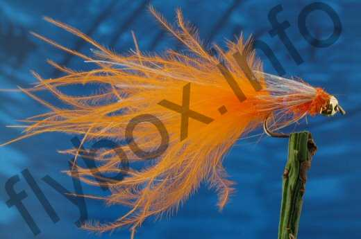 Tungsten Pearly Orange Nymph