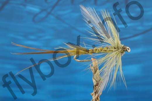 Spent Deerstalker Mayfly Olive