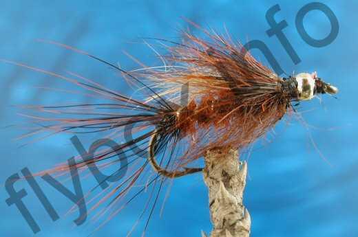 Goldhead Hairy Fiery Brown
