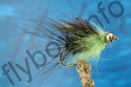 Goldhead Hairy Macmonty Green