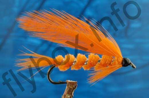 Orange Chenille