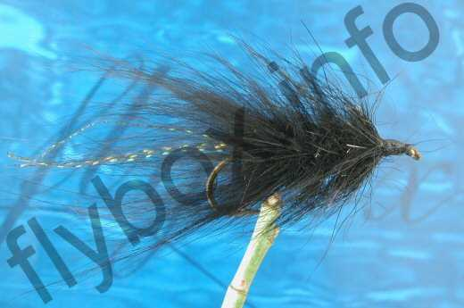 Hairy Black Woolly Bugger
