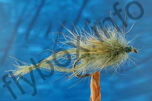 Hairy Olive Dun Emerger
