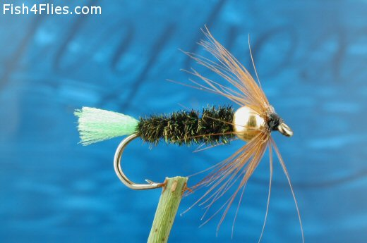Golden Nugget Stick Fluo Green Fly