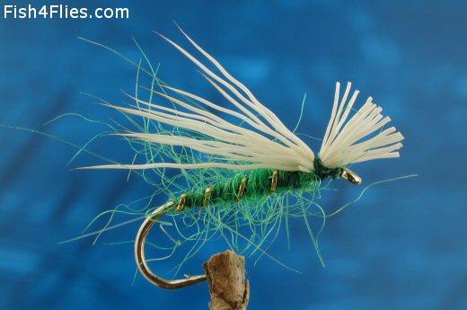 Elk Hair Emerger Green