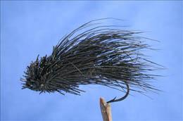 Steelhead Black Dry Fly