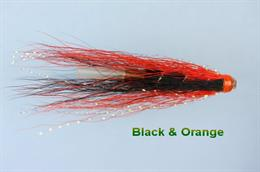 Black & Orange Hair Wing