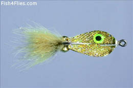 Rainy's Spoon Fly Gold