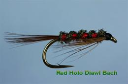 Diawl Bach Holo Red