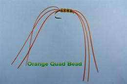 Orange Quad Bead Worm