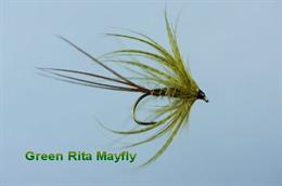 Green Rita Mayfly