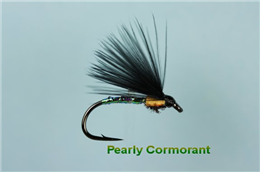 Pearly Cormorant Peacock