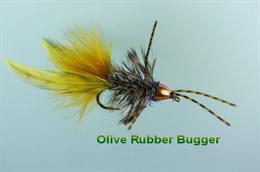 Olive Rubber Booger