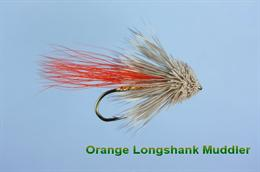 Orange Minnow Muddler