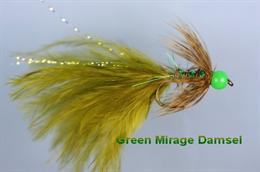 Mirage Green Beaded Damsel