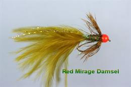 Mirage Red Beaded Damsel
