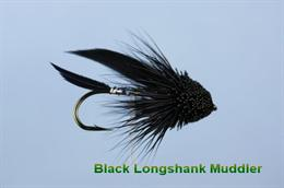 Black Muddler Minnow Longshank