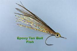 Tan Epoxy Bait Fish
