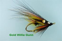 Gold Willie Gunn Brooch-Pin