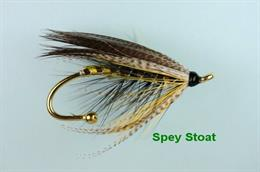 Spey Stoat Brooch Pin