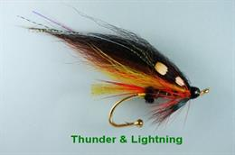 Thunder & Lightning Brooch Pin